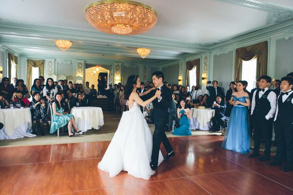 Classic Mint Ballroom First Dance
