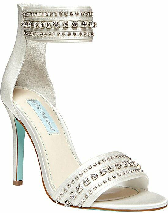 Blue by Betsey Johnson SB-Charm - Ivory Wedding Shoes photo