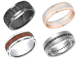 15 unique wedding bands for your groom - Unique Wedding Rings For Him