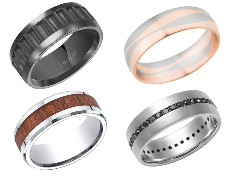 15 unique wedding bands for your groom - Unusual Mens Wedding Rings