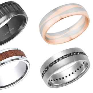 Unique wedding band ideas for groom