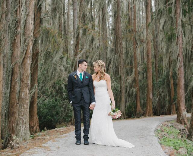 A Rustic Vintage Inspired Woodland Wedding At Bird Island Lake Ranch In Dade City Florida