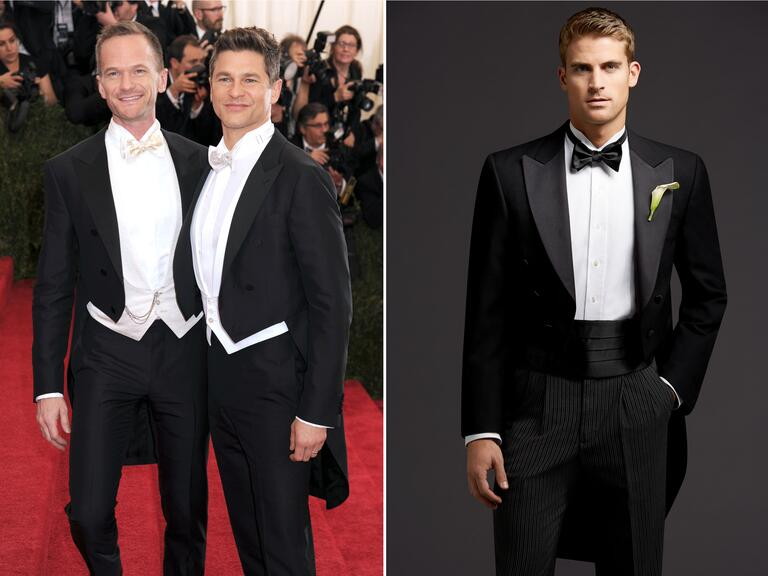 Neil Patrick Harris and husband David Burtka at the Met Gala