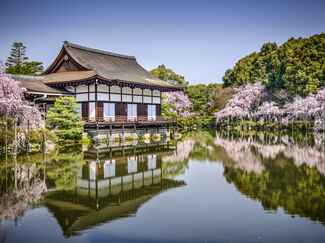 Exotic honeymoon Kyoto, Japan