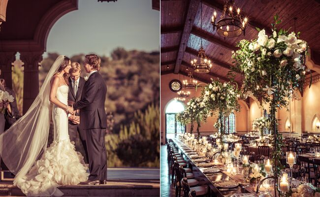 A Luxe Wedding At The Grand Del Mar From YourBash! Event Design