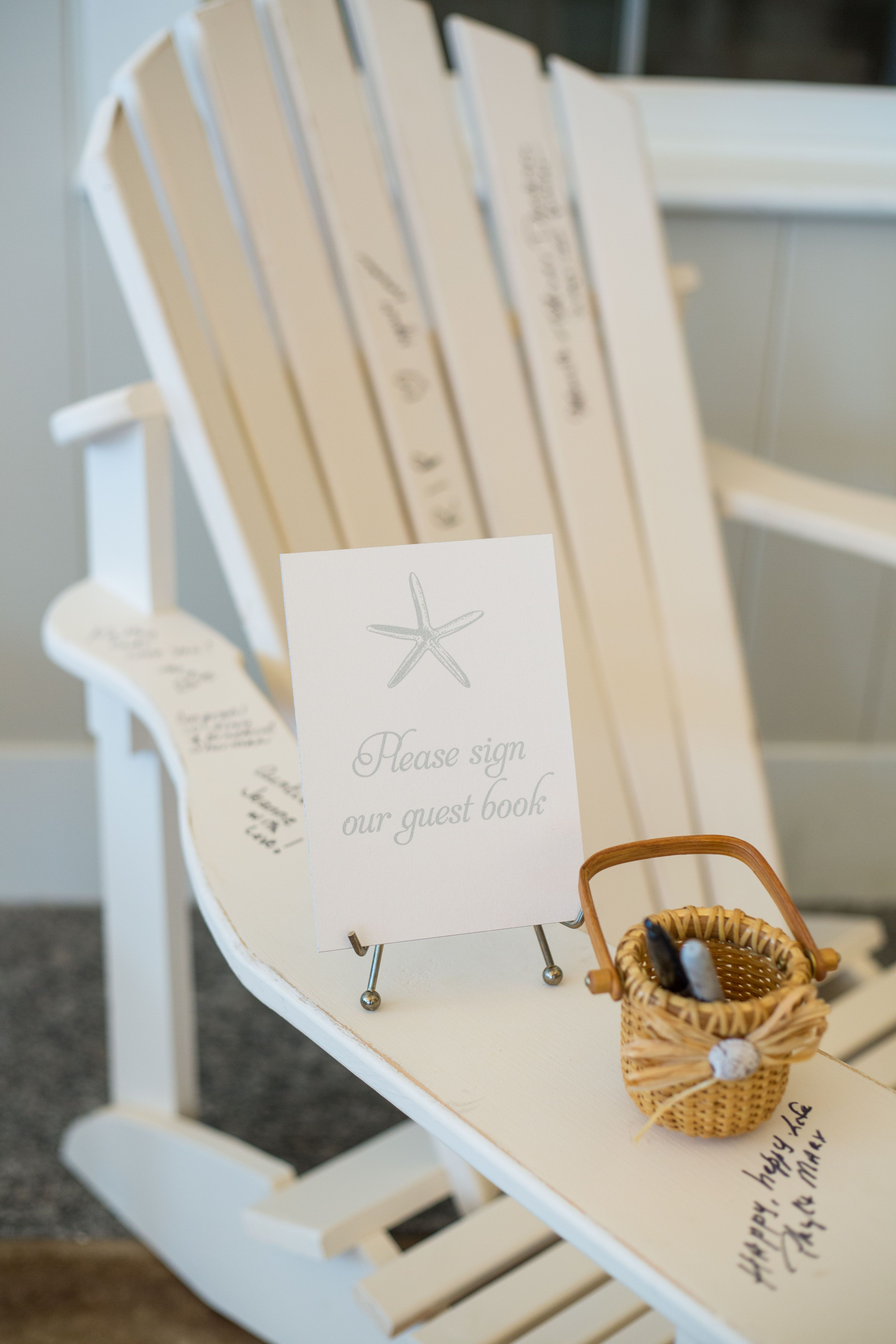 Adirondack Chair Guestbook