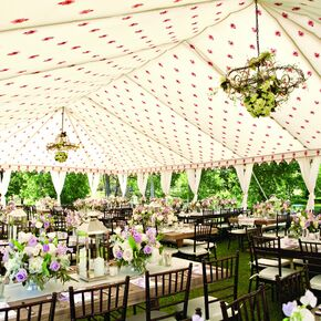 Whimsical French Styled Reception Space