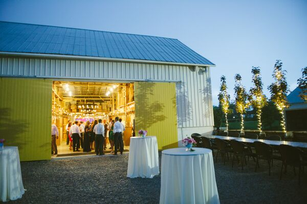 Barn Reception at Jorgensen Farms