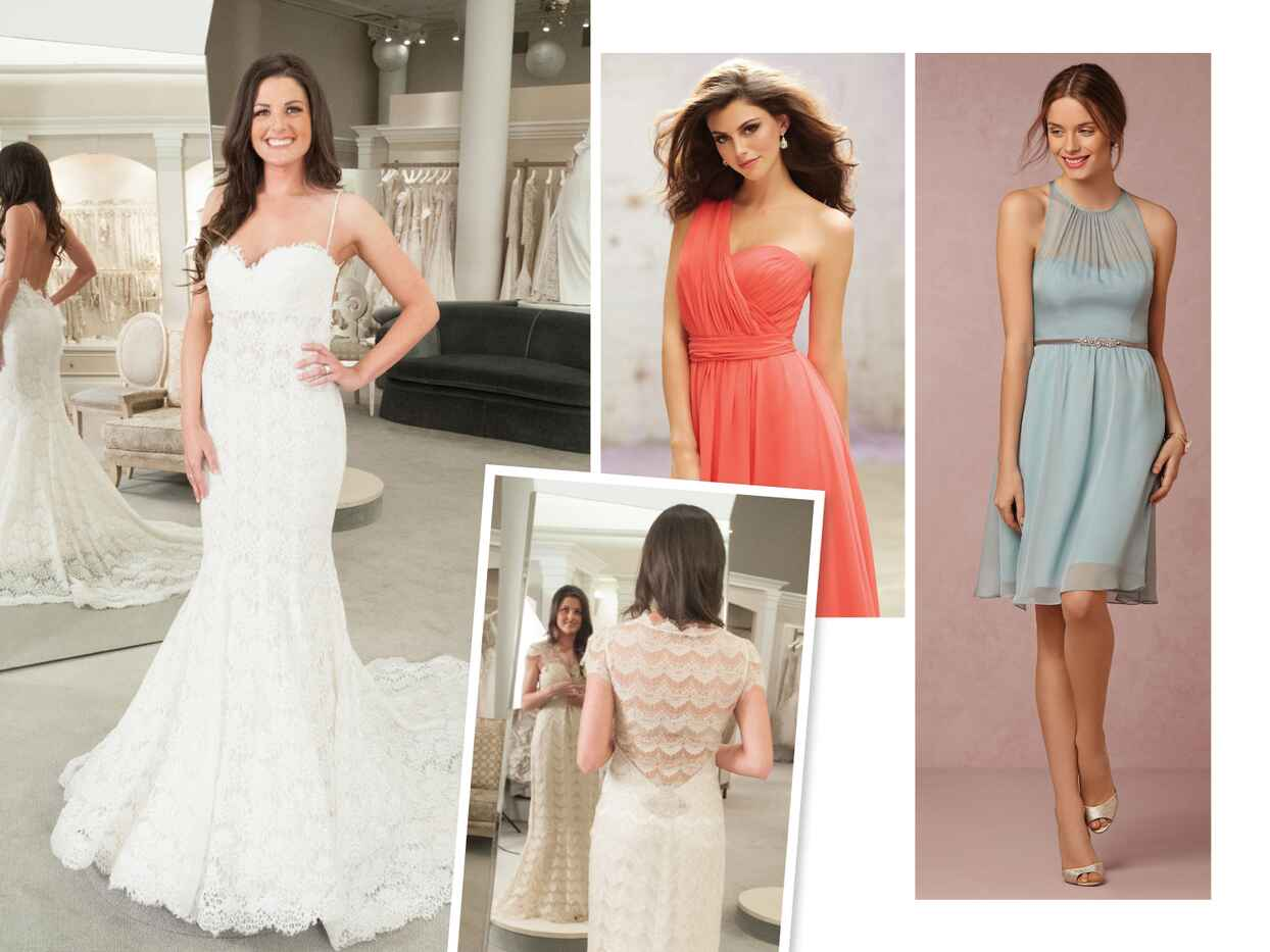 Vote For The Knot Dream Wedding Bridesmaid Dresses and Wedding Dress!