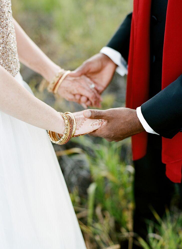 Hindu And Western Wedding Vows