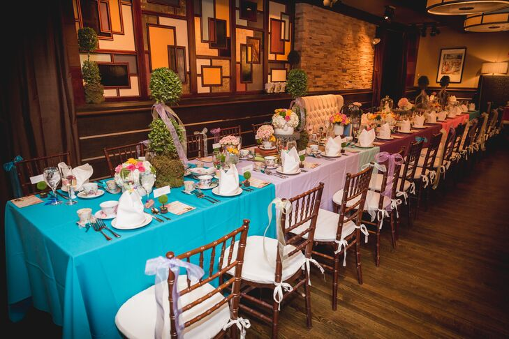 standard restaurant bridal shower