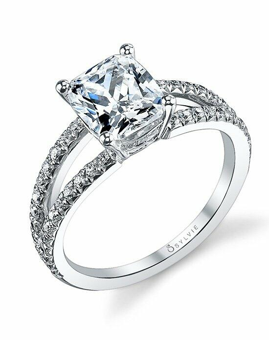 Sylvie Collection S1101 Engagement Ring photo