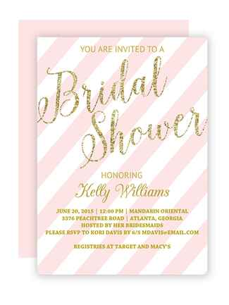 printable bridal shower invitations you can diy, invitation samples