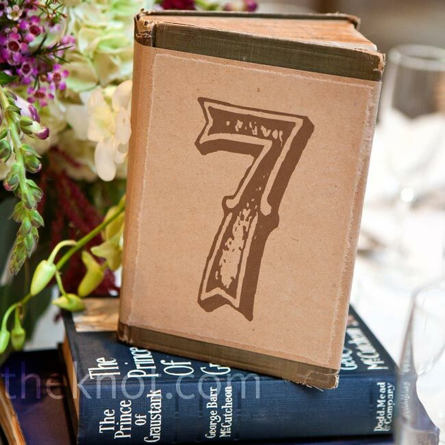 Vintage book table numbers for Table 52 number