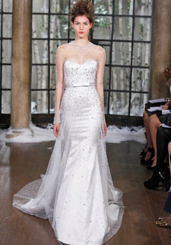 Ines Di Santo Paris Wedding Dress photo