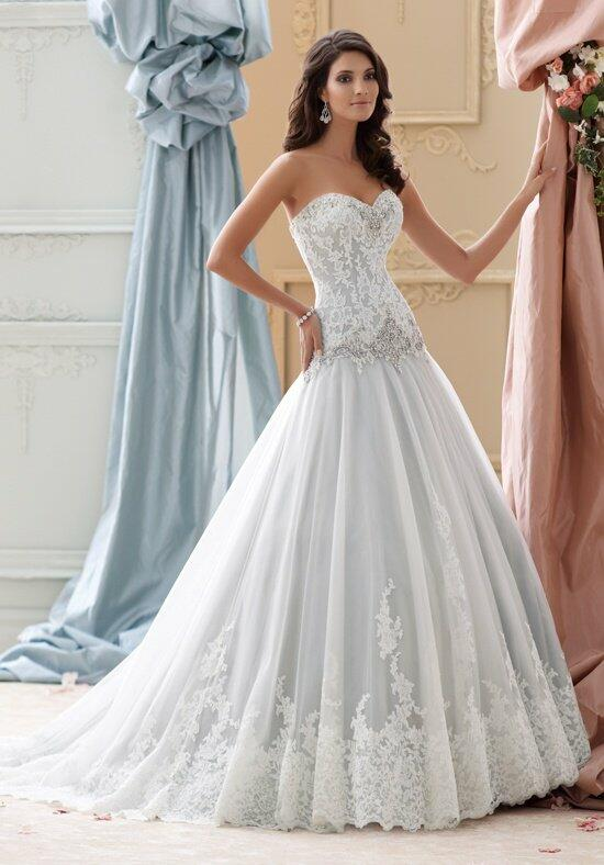 David Tutera for Mon Cheri 115228 Ocean Wedding Dress photo