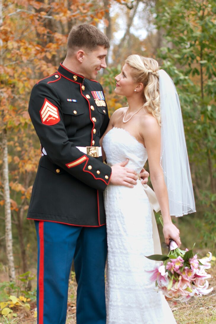 A Traditional Military Wedding At Panache In Jacksonville