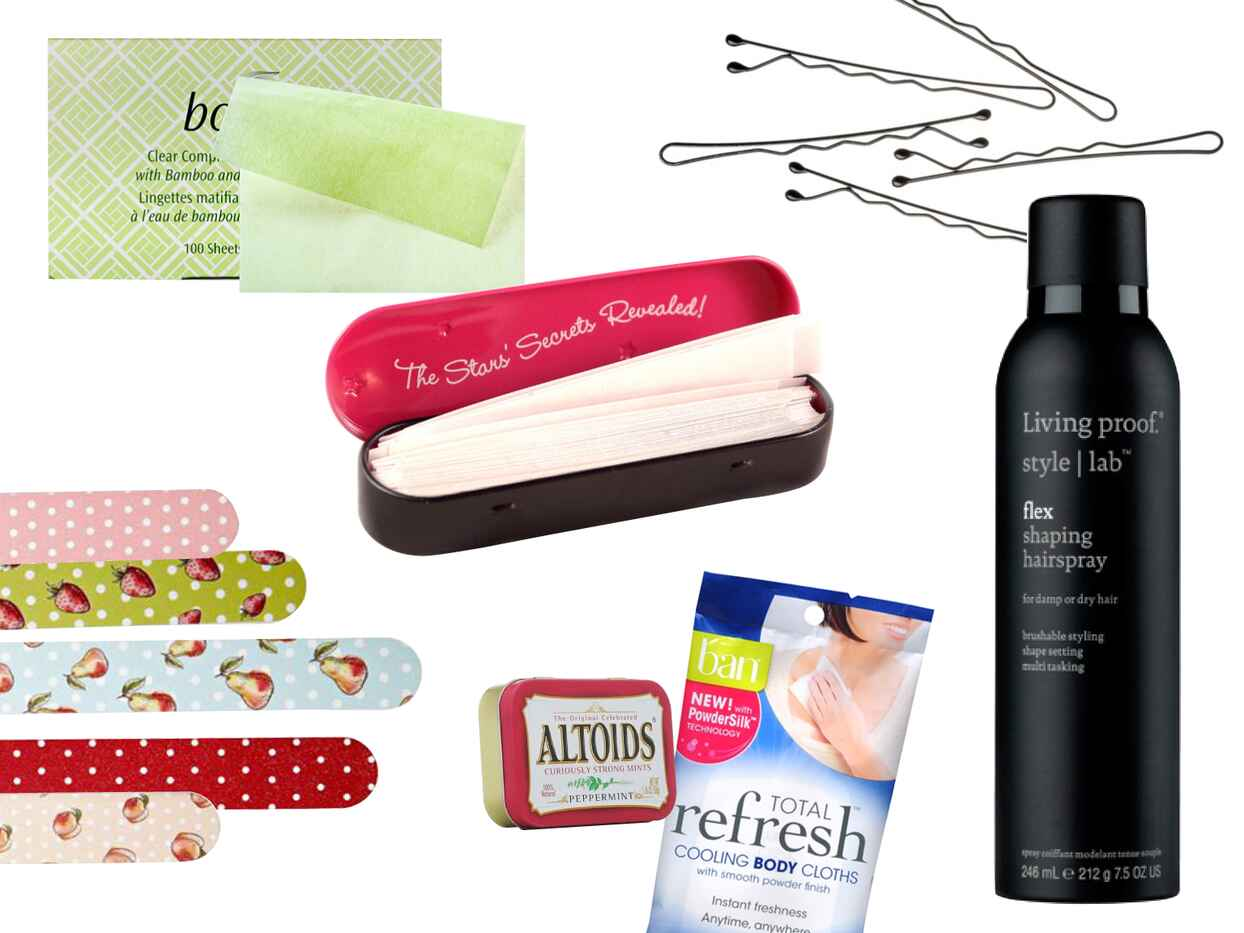 7 Must-Haves for Your Day-Of Beauty Bag