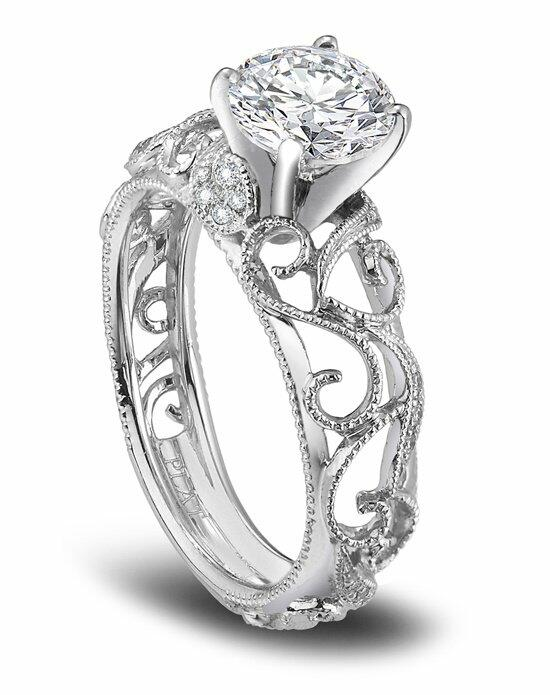 Platinum Must Haves Parade Designs Platinum and Diamond Engagement Ring Engagement Ring photo