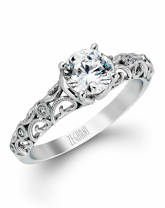 Zeghani ZR915 Engagement Ring photo