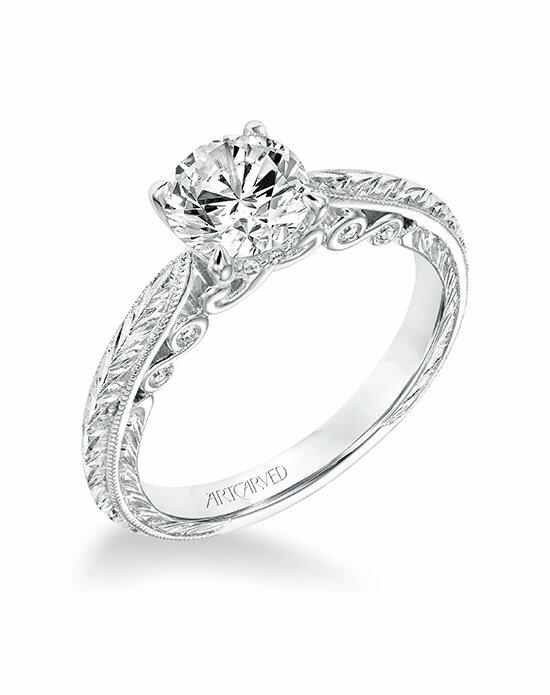 ArtCarved 31-V690ERW-E Engagement Ring photo