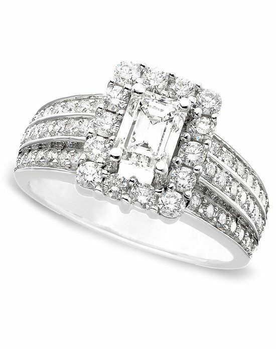 Macy s ISR1634CTQ Engagement Ring The Knot