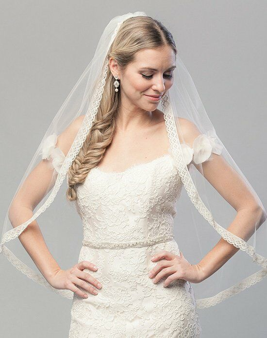 Laura Jayne Metropolitan Embroidered Sash Wedding Accessory photo