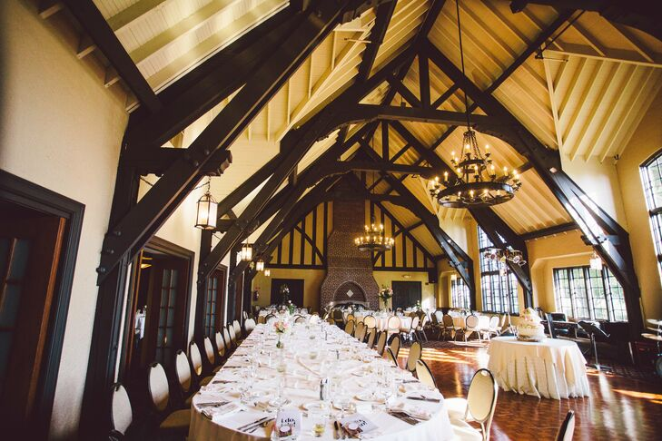 Elegant English Tudor Style Reception Space