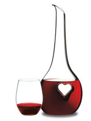 riedel crystal wine glass