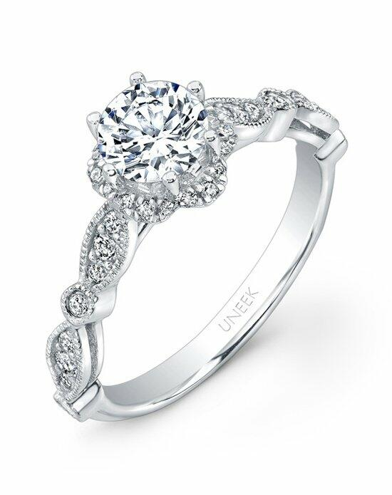 Uneek Fine Jewelry USM018RD-6.5RD Engagement Ring photo