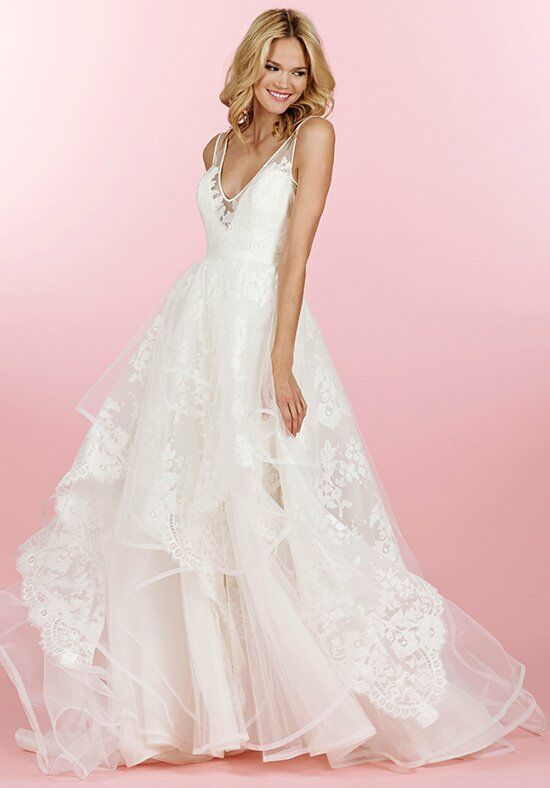 Hayley paige 6458 conrad wedding dress the knot for Wedding dresses the knot