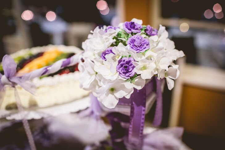 Lilac and White Vintage-Inspired Bouquet