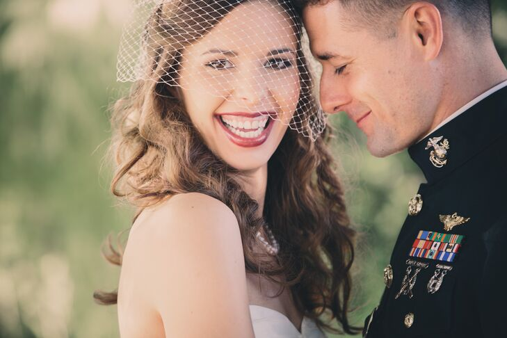 Michelle Bouvier (28 and a nurse) and David Myers (33 and a USMC pilot) dated for a month until Michelle moved out of town and David deployed. The cou