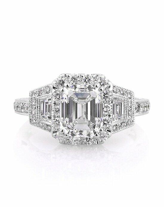 Mark Broumand 3.00ct Emerald Cut Diamond Engagement Ring Engagement Ring photo