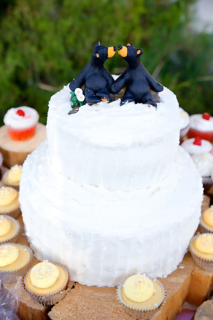 California Grizzly Bear Cake Topper