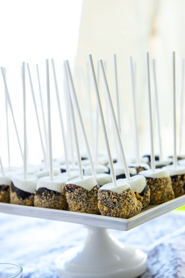 S'mores Marshmallow Dessert Table