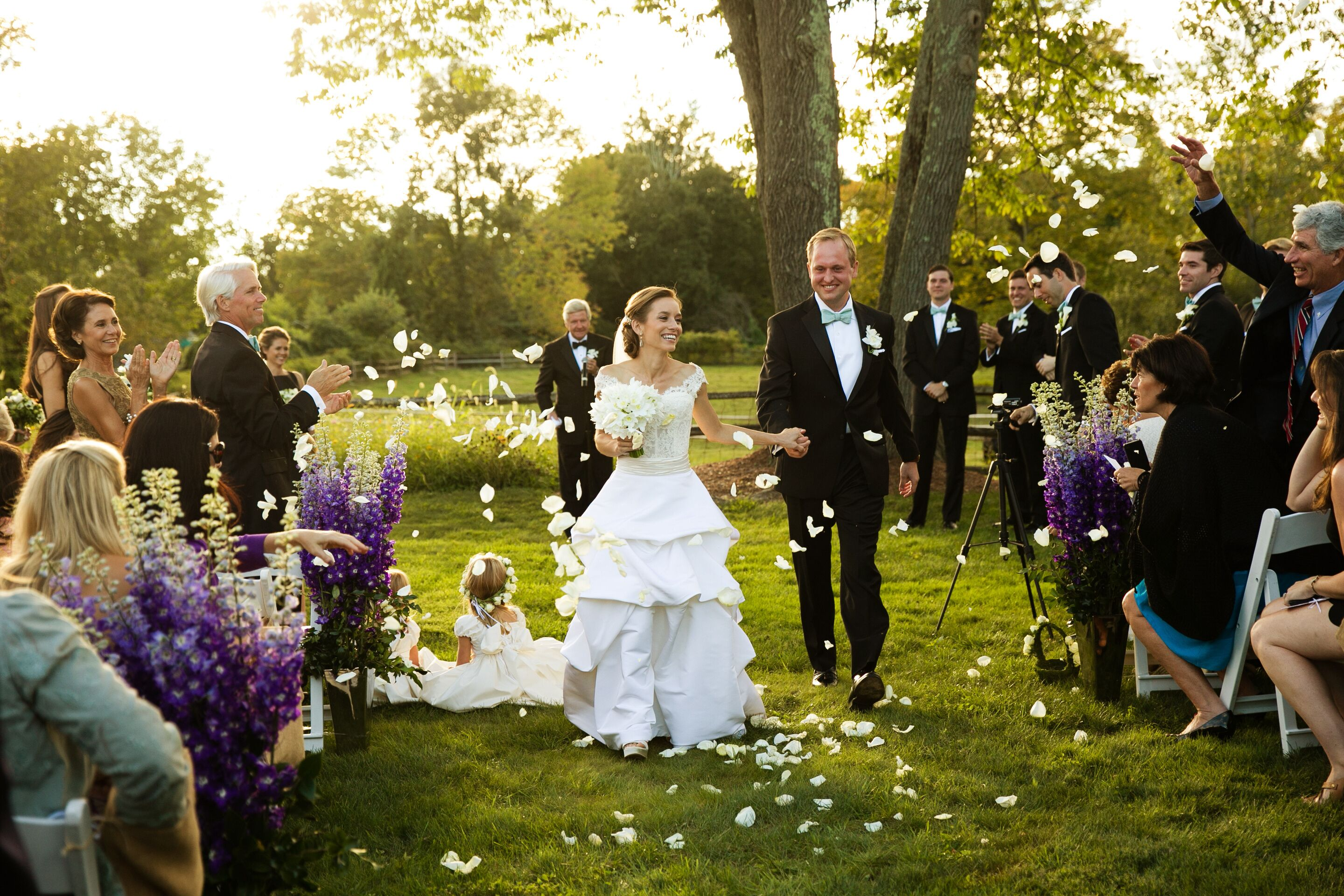 An Intimate Backyard Wedding At A Private Residence In