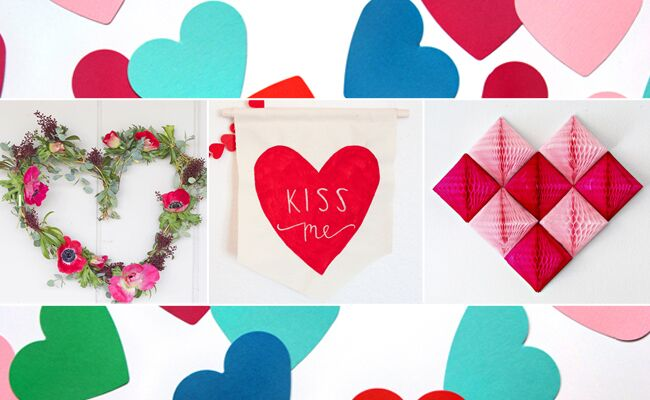 Make These Heart-Themed DIY Projects For Your Wedding (And Valentine's Day!)
