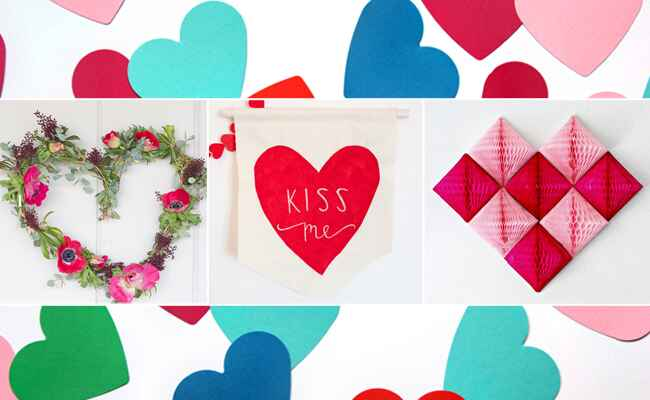 DIY wedding projects with hearts: TK / TheKnot.com