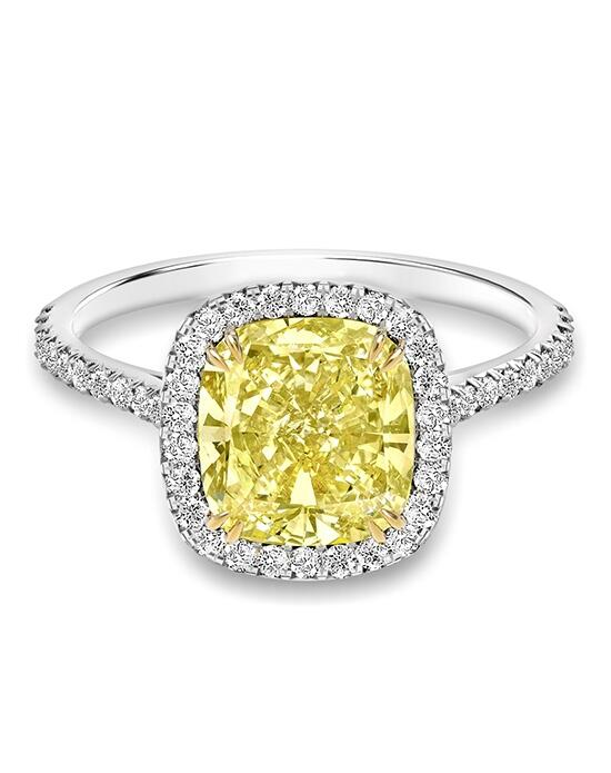 Forevermark Diamond Engagement Rings CENTER OF MY UNIVERSE™ FANCY YELLOW HALO RING/HM-7649 Engagement Ring photo