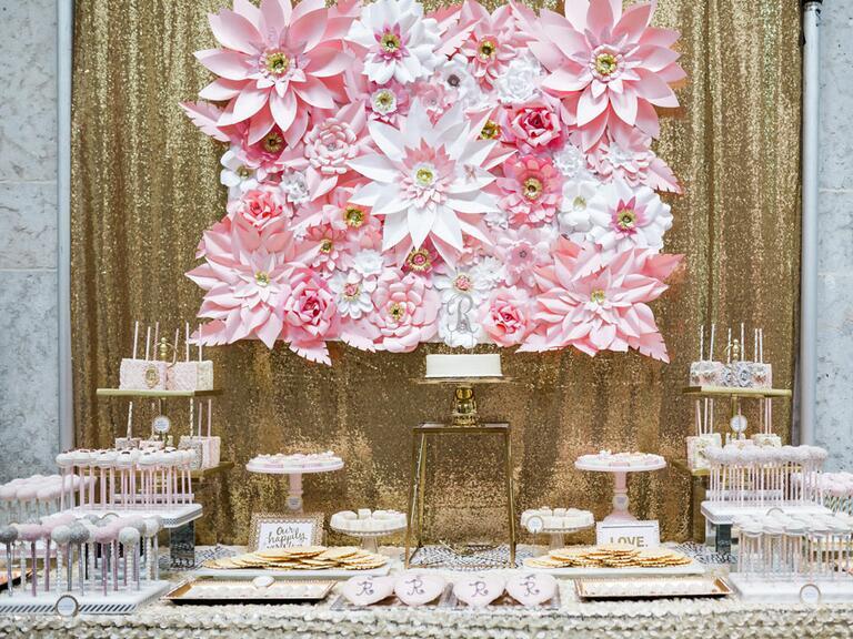 wedding desert spread