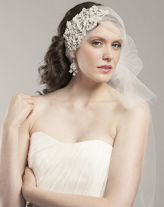 Laura Jayne Mackenzie Statement Hair Wrap Wedding Accessory photo