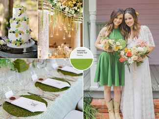 Greenery color examples