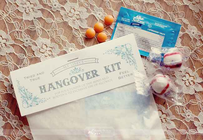 Hangover Helper Kit