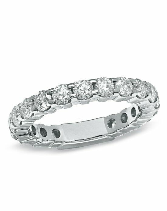 Zales 2 CT. T.W. Diamond Eternity Band in 14K White Gold   19647031 Wedding Ring photo