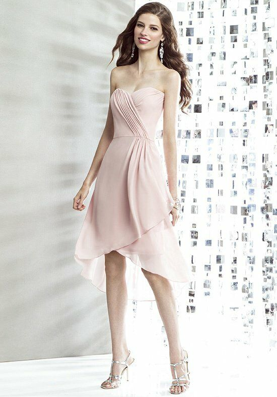 The Dessy Group Maids Social Bridesmaids Style 8138 Bridesmaid Dress photo
