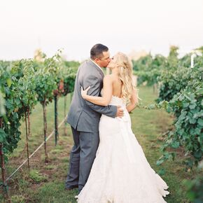 Vineyard Wedding In Lubbock Texas