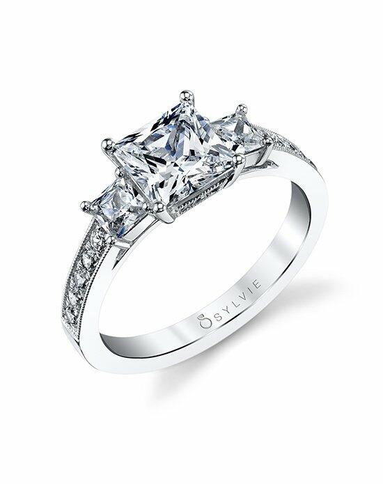 Sylvie Collection S1217 Engagement Ring photo