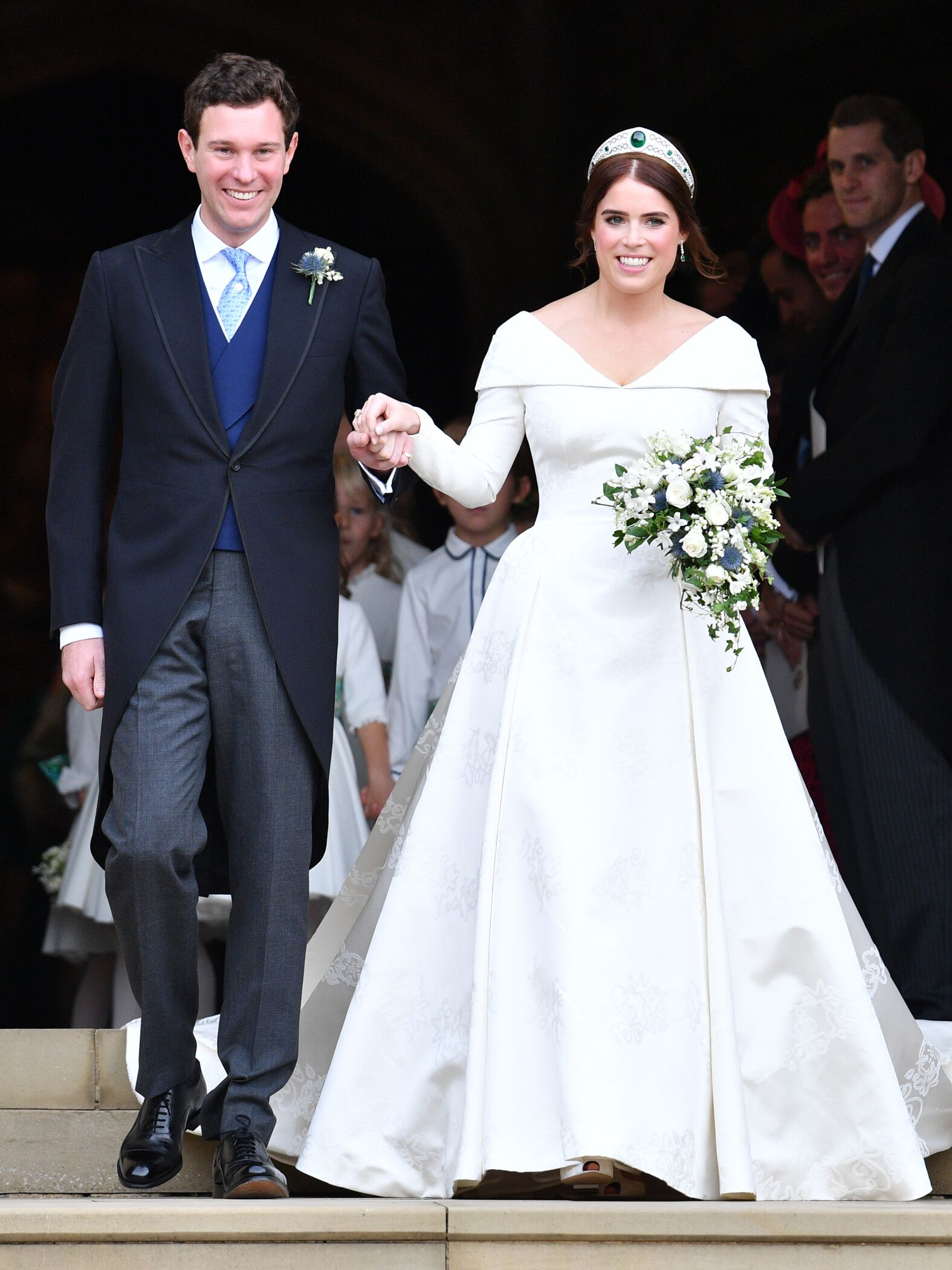 a80927a2a42 The 54 Best Celebrity Wedding Dresses of All Time