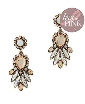 Live In Pink by Suzanna Dai Chandelier Earrings